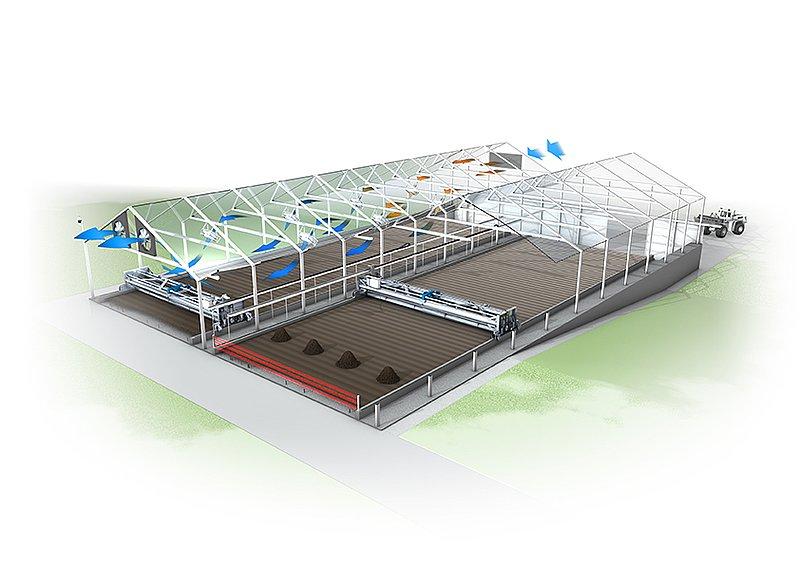 Huber Solar Active Dryer Srt Huber Technology China